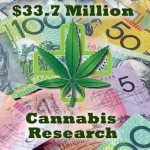34 million dollar australian cannabis research donation