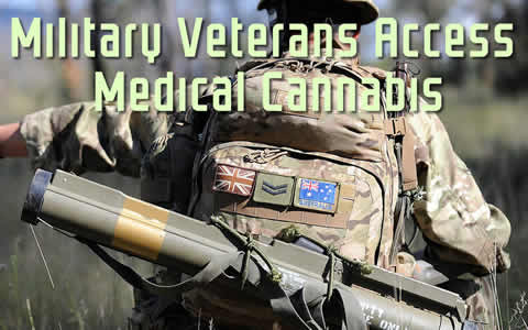 Military Veterans Access Medical Cannabis